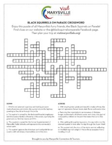 Black Squirrels Crossword Puzzle