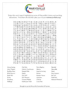 Marysville Word Search